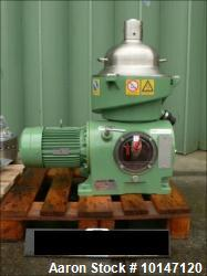 Used- Stainless steel GEA Westfalia Self-Cleaning Disc Separator, OSC-4-91-006