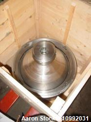 Used- Stainless Steel Westfalia Desludger Disc Centrifuge Bowl Assembly, SA-80-0