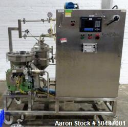 Used- GEA Westfalia SC-6-06-076 Centrifuge. 316 Stainless steel construction (product contact areas), maximum bowl speed 121...
