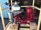 Reconditioned- Westfalia SB-80-36-177 Desludger Disc Centrifuge