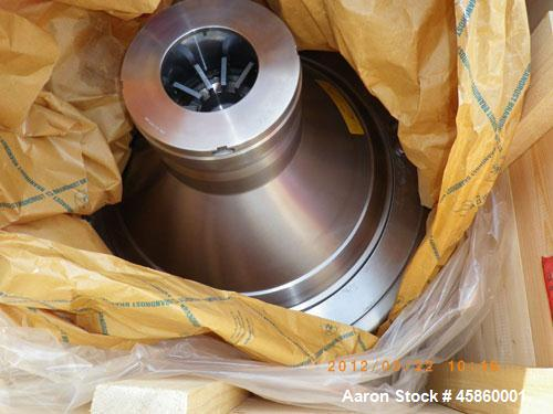 Unused-Westfalia CRA-500-06-777 Desludger Disc Centrifuge, stainless steel construction (product contact areas), clarifier d...