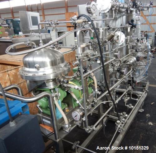 Used- Westfalia CSA-1-06-475 Desludger Disc Centrifuge