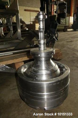Used- Westfalia CSA-8-06-476 Desludger Disc Centrifuge