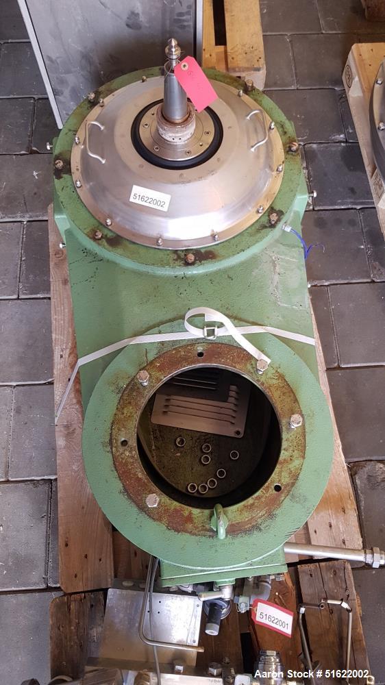 Used- GEA Westfalia Desludger Disc Centrifuge