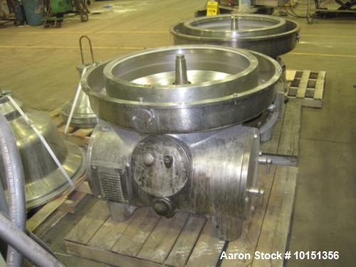 Used-Westfalia MSA-160-01-076 Desludger Disc Centrifuge