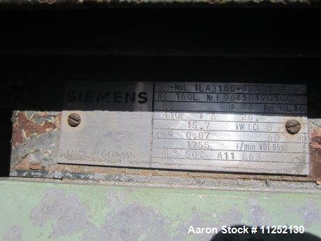 Used-Westfalia OSA-35-02-066 Desludger Disc Centrifuge