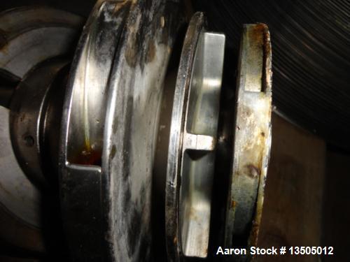 Used- Stainless Steel Westfalia Refining Desludger Disc Centrifuge Bowl Assembly, RSA-150-01-076