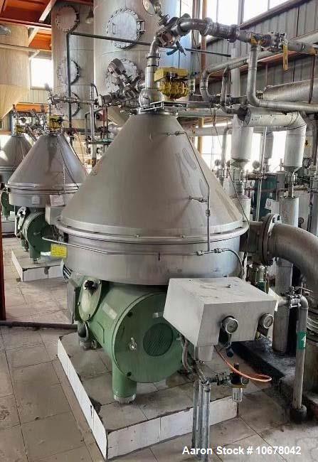 """Used- Westfalia RSE-150-01-776 """"Refining"""" Desludger Disc Centrifuge"""