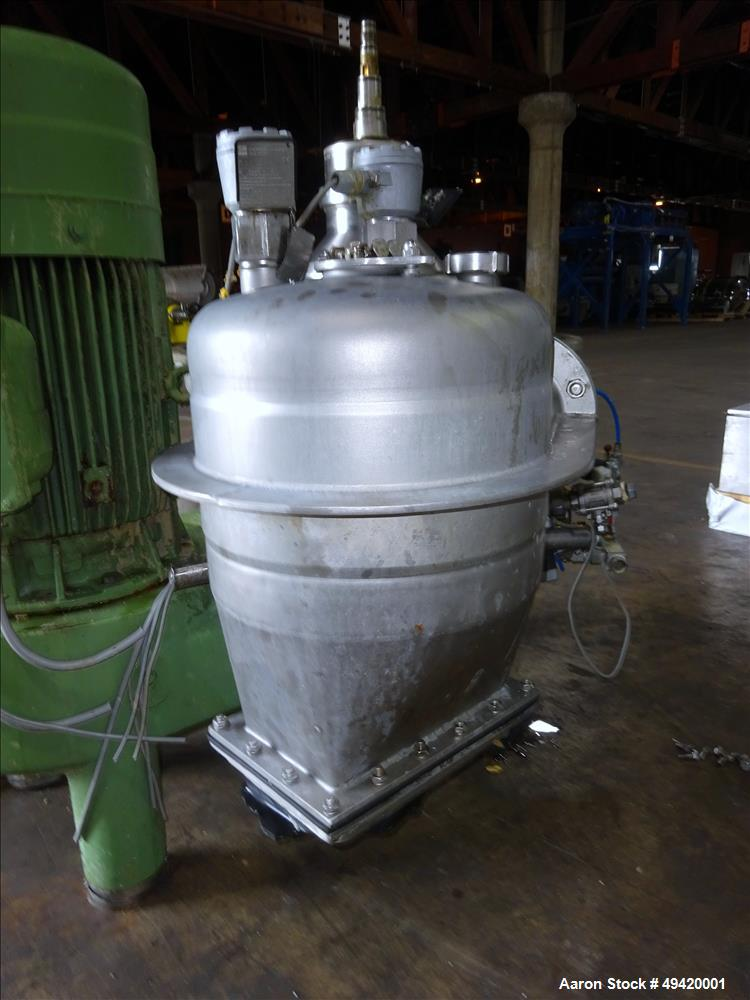 Used- Westfalia SC-35-01-177 Desludger Disc Centrifuge