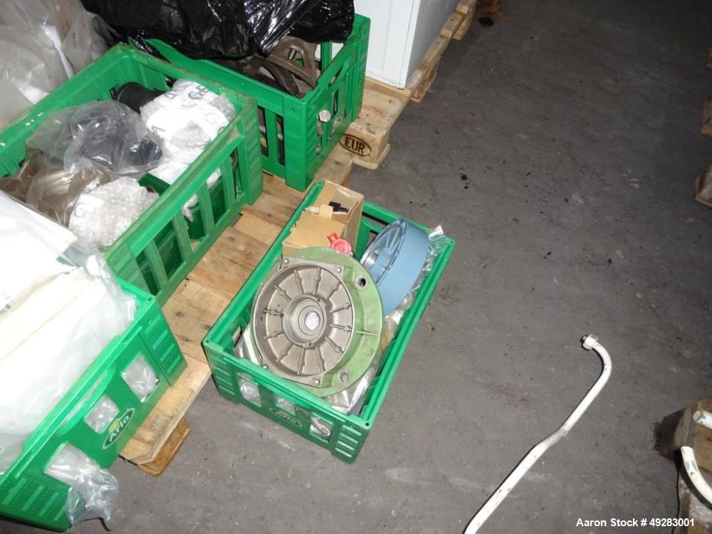 Used- GEA-Westfalia OSC-5-02-066/5 Desludger Disc Centrifuge. Stainless steel bowl construction. Max bowl speed 7290 rpm. Se...