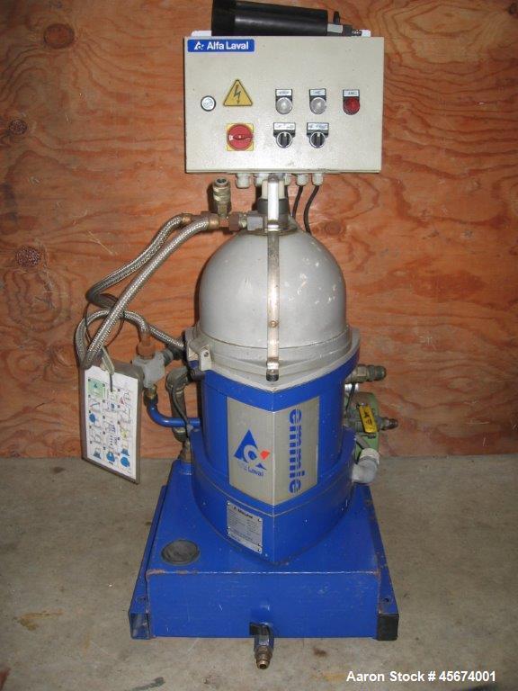 Used- Alfa Laval MIB-303S-13 Solid Bowl Disc Centrifuge