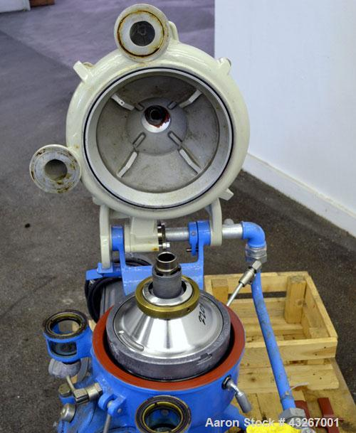 Unused- Hutchison Hayes HH-219 (Alfa-Laval MAB) Solid Bowl Disc Centrifuge