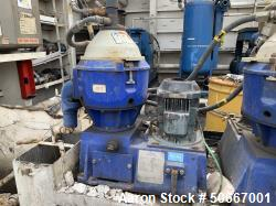 Used- Alfa Laval Solid Bowl Disc Centrifuge. Model MMB-305S-11