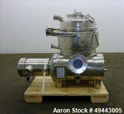 Used- Westfalia Solid Bowl Disc Centrifuge