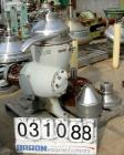 Used- Alfa-Laval CDM 209-74S-60 Oil Purifier, 430 Stainless Steel. Designed for applications with mostly heavy phase, rated ...