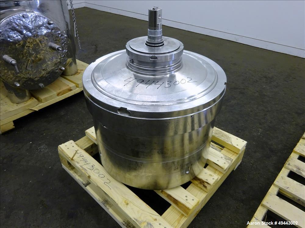 Used- Westfalia BKA35-86-076 Solid Bowl Disc Centrifuge. 316 SS