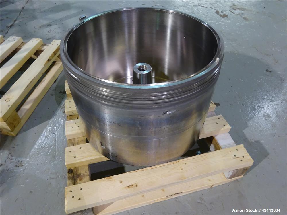 Used- Westfalia BKA35-86-076 Stainless steel Solid Bowl Disc Centrifuge.