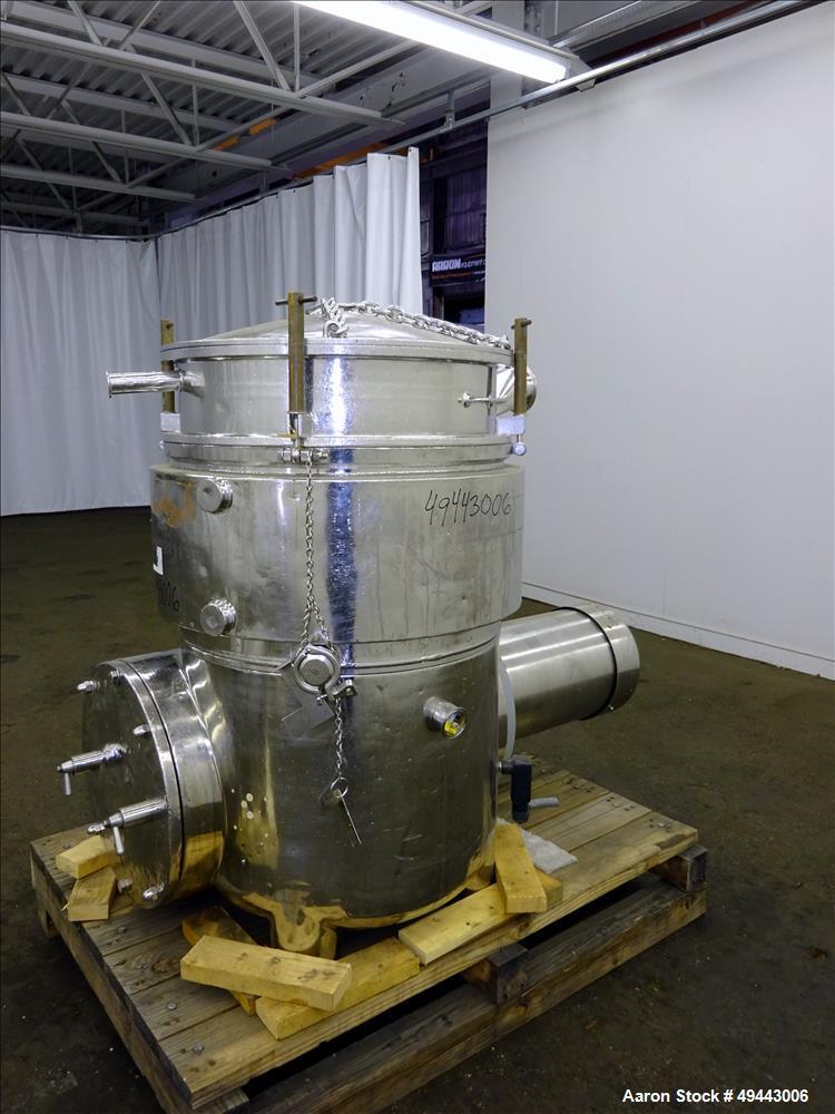 Used- Westfalia Stainless Steel, Model BKA35-86-076 Solid Bowl Disc Centrifuge.