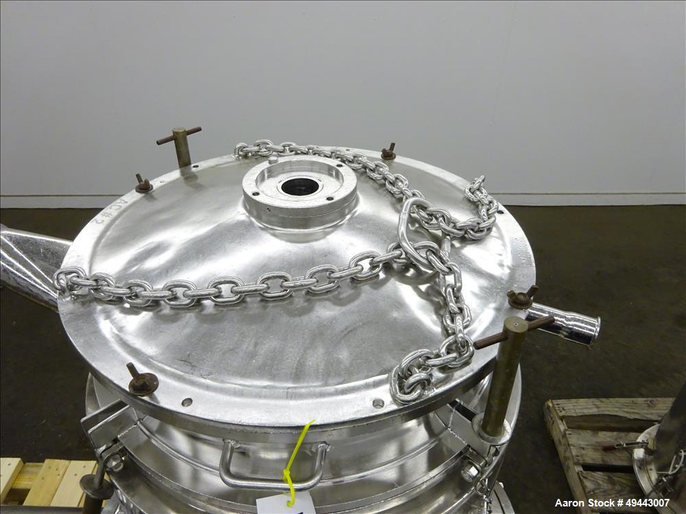 Used- Westfalia BKA-35-86-076 Solid Bowl Disc Centrifuge