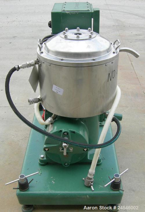 Used-Westfalia KO-2006 Solid Bowl Disc Centrifuge