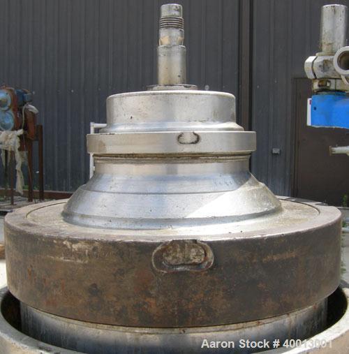 Used- Stainless Steel Westfalia Solid Bowl Refining Disc Centrifuge, RTA-45-01-074