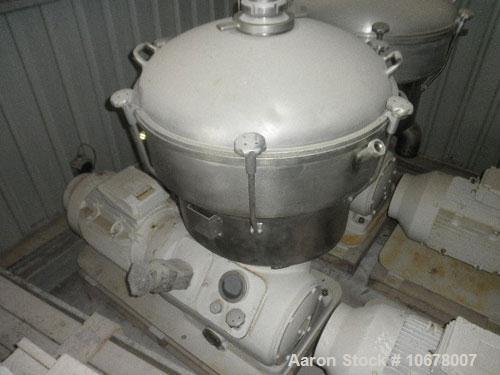 Used-Alfa Laval Nozzle Disc Centrifuge, FEUX-412