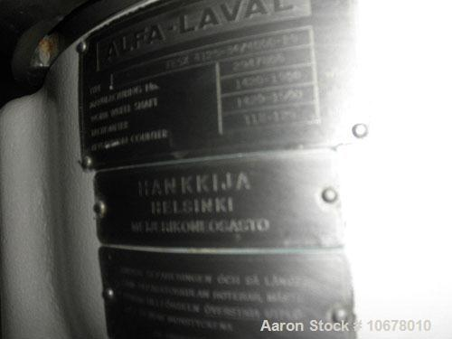 Used-Alfa Laval Nozzle Disc Centrifuge, FEUX-415