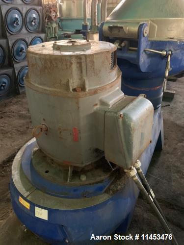 Used-Alfa Laval SPQX-512-S-31CG-60 Nozzle Disc Centrifuge