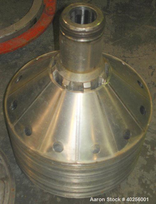Used- Stainless Steel Delaval Nozzle Disc Centrifuge, SVSX-210-75B