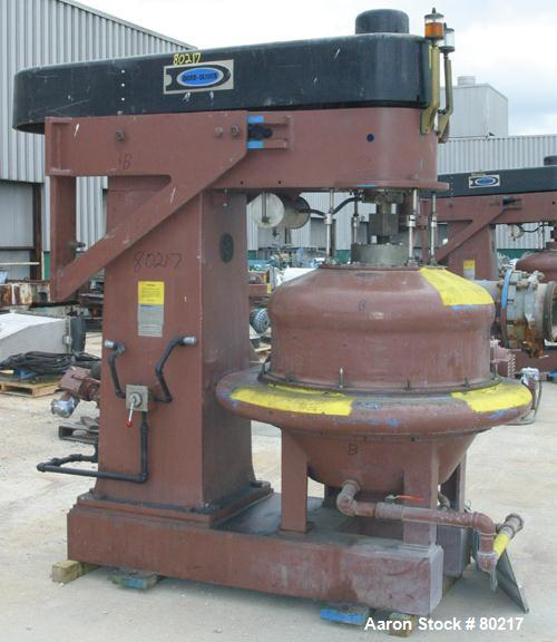 Used- Dorr Oliver Merco Nozzle Disc Centrifuge