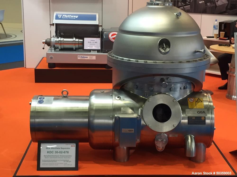Used GEA Westfalia KDC 30-02-676 Nozzle Disc Centrifuge