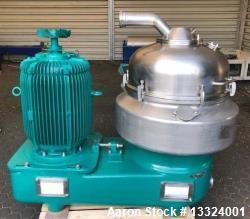 Used- Westfalia Nozzle Disc Centrifuge