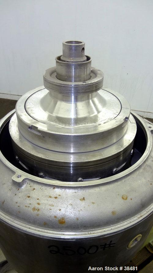 Used- Stainless Steel Sharples Nozzle-Jector Centrifuge