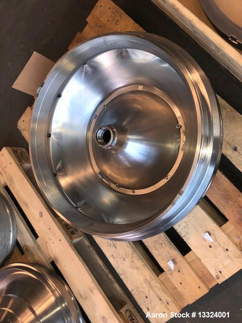 Used- Westfalia DA-100-06-117 Nozzle Disc Centrifuge