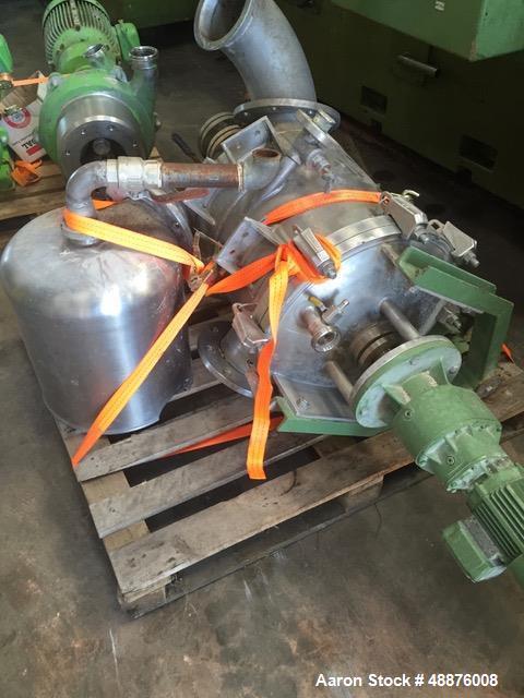 Used- Westfalia DA-100-76-117 Nozzle Disc Centrifuge