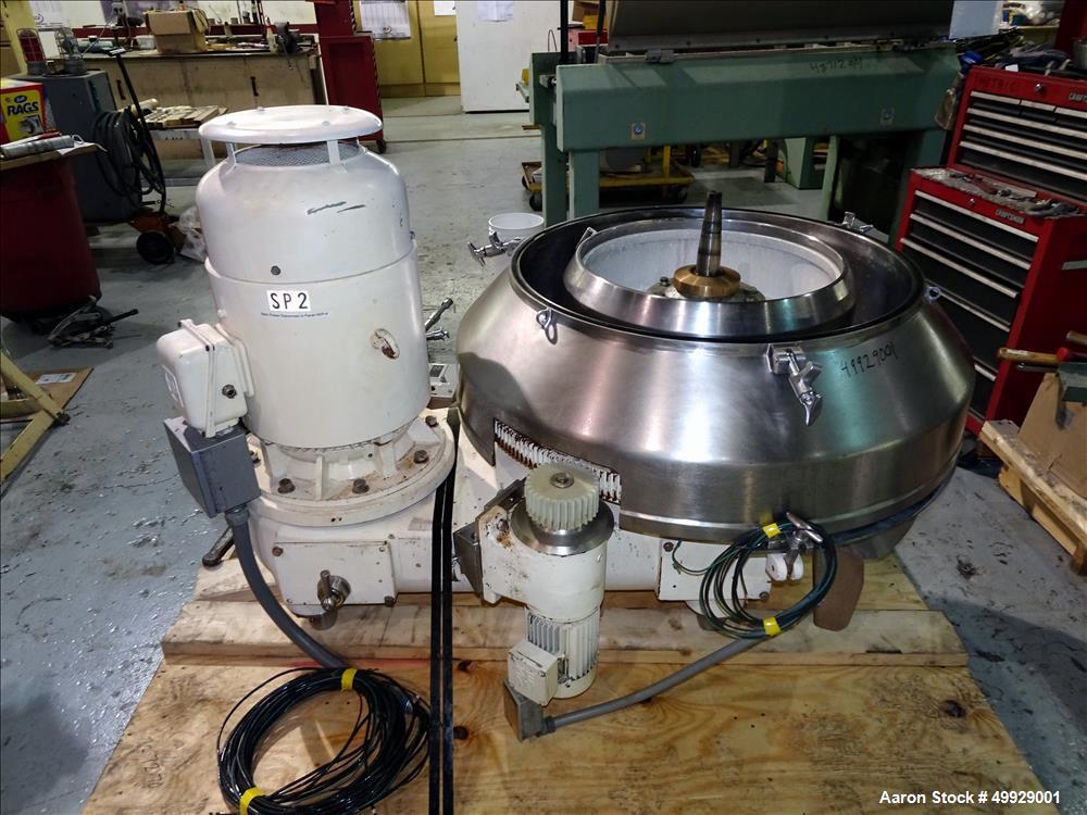 Used- Westfalia SIH-10007 Quark Disc Centrifuge
