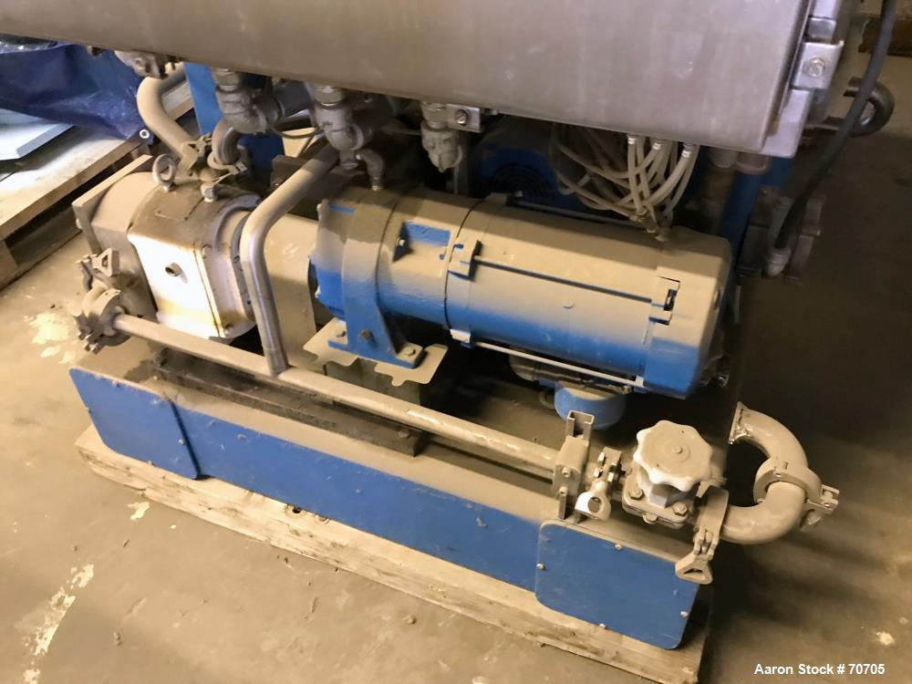 USED- Stainless Steel High Centrate Solid Bowl Centrifuge