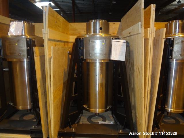 Unused: CINC Centrifuge, Model V-20. 316 Stainless steel, maximum throughput 200 gpm (757 lpm). Rotor diameter 20.0 in. (50....