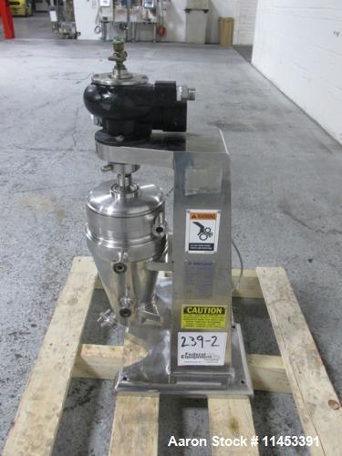 Used- Alfa Laval T-1 Super Lab Centrifuge.