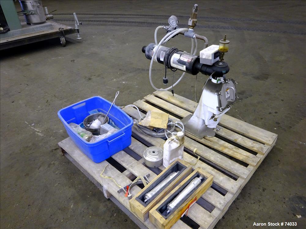 Used- Alfa Laval T-1P Pressuretite Lab Super Centrifuge