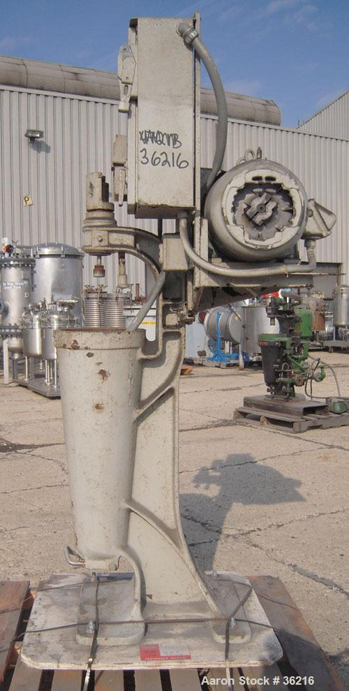 Used- Sharples AS-16 Super Centrifuge, Type M-4-15-3D-6