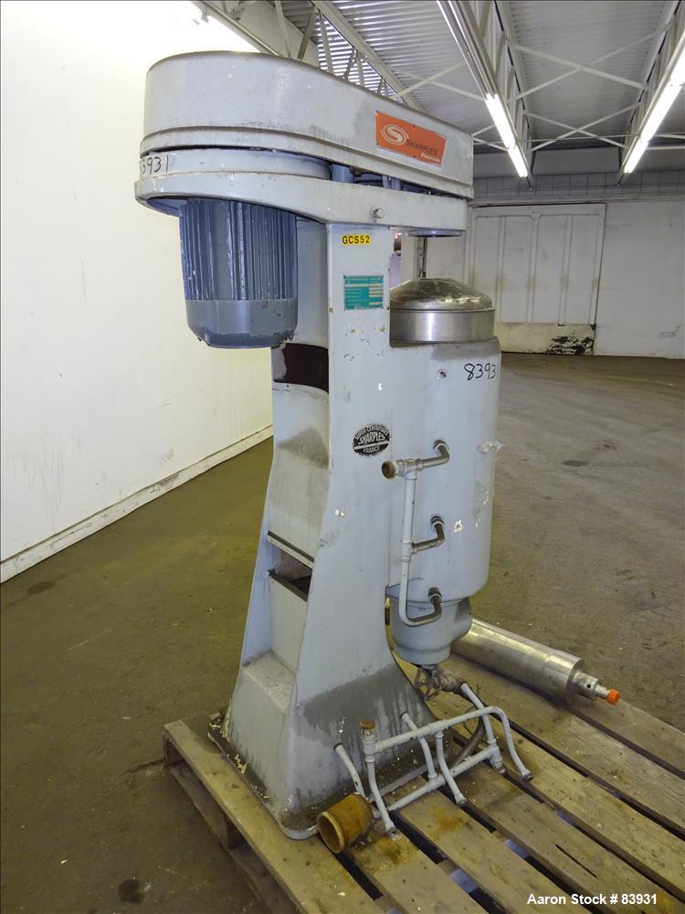 Used- Sharples Super Centrifuge, Model  MV26RR.210G.1H