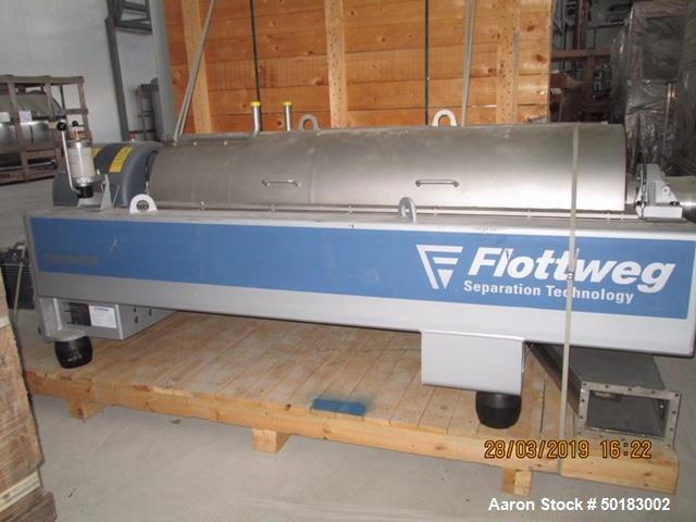 Unused- Flottweg Z4E-4/441 Tricanter Solid Bowl Decanter Centrifuge