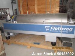 Unused- Flottweg Z4E-4/441 Tricanter Solid Bowl Decanter Centrifuge
