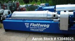 Used-Flottweg Z6E-4/444 Solid Bowl Tricanter Centrifuge