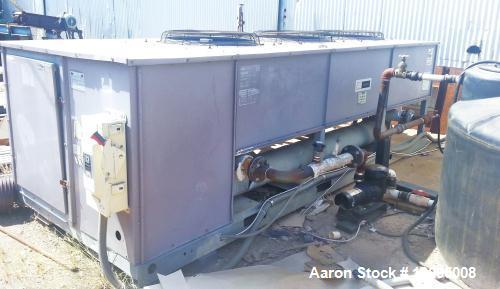 Used- Carrier 30 Ton Air Cooled Chiller, Model 30GT 035 610
