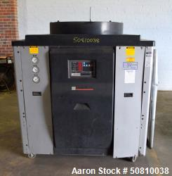 Used- Milacron Portable Air Cooled Chiller, Approximate 14.5 Tons, Model MCA-15-