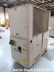 Used- Sterlco Portable Air Cooled Packaged Chiller, Model SMCA-15. 14.14 Tons Cooling Capacity, 34.9 GPM, Max Temperature 65...