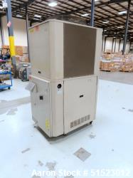 Used-Sterlco Portable Air Cooled Packaged Chiller, Model SMCA7.5.  7.5 Tons Cooling Capacity, Max Temperature 65 F, R22 Refr...