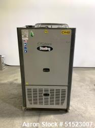 Used-Sterling GP Series Portable Air Cooled Packaged Chiller, Model GPAC-20.  5.2 Tons Cooling Capacity at 50 Degrees LFT, M...